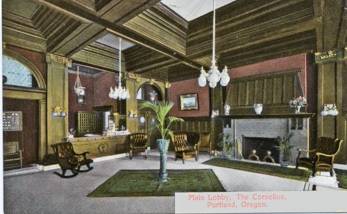 Postcard from the Architectural Heritage Center collections.