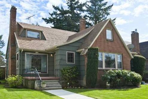 A Lindquist built home on NE 61st Avenue.