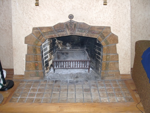 Example of Markoff tile. Image courtesy of Historic Preservation Northwest