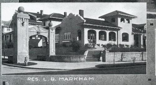 Image of 3206 NE Glisan from 1916 Laurelhurst real estate booklet. Source: Architectural Heritage Center library.