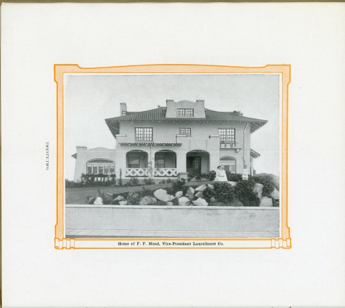 c.1912 image of the F. F. Meade residence. Source: Architectural Heritage Center